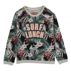 Sweat Tropical Surf Lunch Multicolore