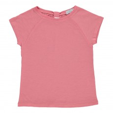 T-shirt Flora Rose bonbon