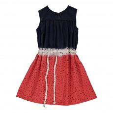 Robe Etoiles Tie & Dye Seoul Rouge