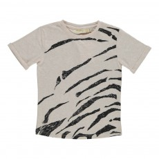 T-shirt Norman Hidden Tiger Ecru