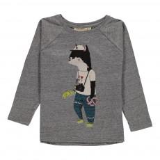 T-shirt Manches Longues Viggo Tourist Gris