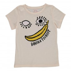 T-shirt Banana Tourist Rose pâle