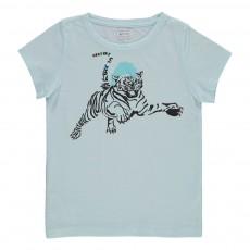 T-shirt Tigre Ecru