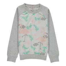 Sweat Snoopy Gris chiné