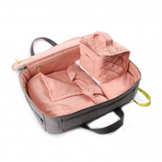 Valise de maternité avec trousseau chic - Nuage Rose