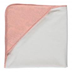 Cape de bain - Nuage rose