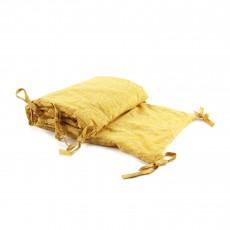 Tour de lit - Nuage jaune