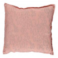 Coussin carré - Nuage rose