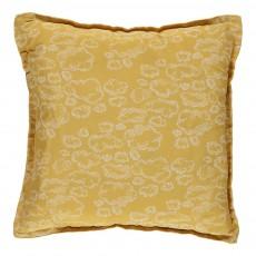 Coussin carré - Nuage jaune