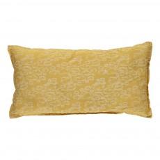 Coussin rectangle - Nuage jaune