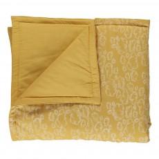 Mini plaid - Nuage jaune