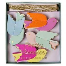 Guirlande en papier - Oiseaux