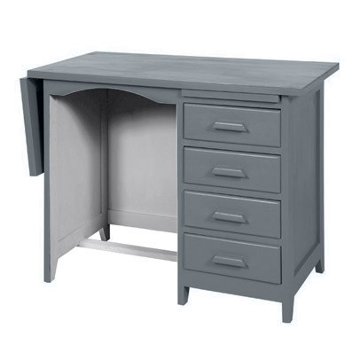 bureau de comptable gris fonc gris clair le fait main. Black Bedroom Furniture Sets. Home Design Ideas