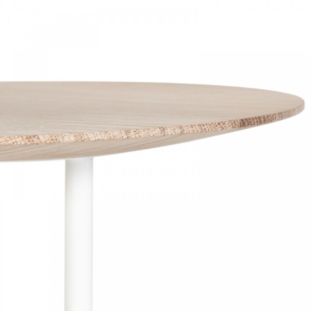 Table de nuit d sir blanc hart mobilier smallable for Table de nuit blanc