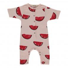 Combinaison All Over Watermelons Rose poudré