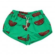 Short De Bain Watermelons All Over Vert d'eau