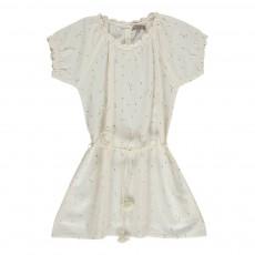 Robe Cœurs All Over Blanc