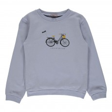 Exclusivité - Sweat Vélo Lavande