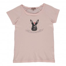 Exclusivité - T-shirt Lapin Rose pâle