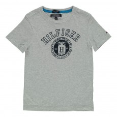 T-Shirt Hilfiger Gris chiné