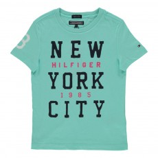 T-Shirt Manhattan Bleu