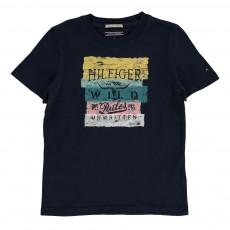T-Shirt Wild Bleu nuit