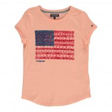 T-Shirt Blake Rose pêche