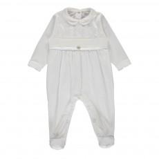 Pyjama Ligne Elegance Blanc