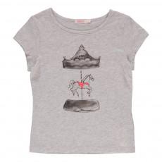 T-shirt  Manège Gris chiné