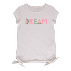 T-shirt Dream Blanc