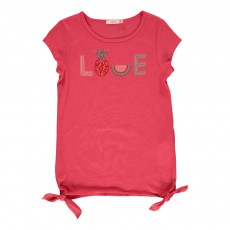 T-shirt Love Rouge