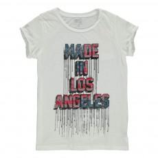T-Shirt Paisley Blanc