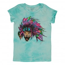 T-Shirt Indian  Bleu