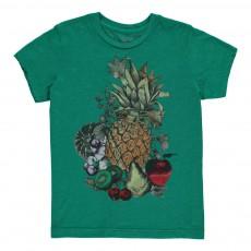T-Shirt Fruits  Vert
