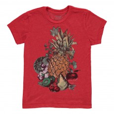 T-Shirt Fruits  Rouge