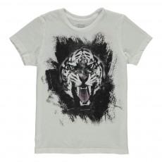 T-Shirt Tiger Blanc