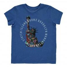 T-Shirt Pins  Bleu roi