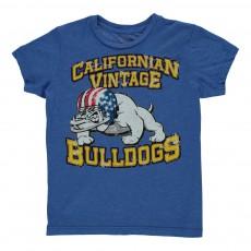 T-Shirt Vintage  Bleu roi