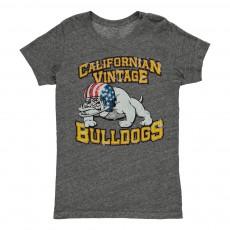 T-Shirt Vintage  Gris chiné
