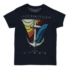 T-Shirt Santa Monica Bleu marine