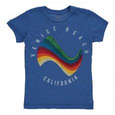 T-Shirt Surf Bleu Roi  Bleu roi