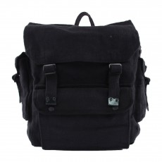 Sac à dos Rucksacks avec Patchs Noir