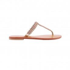 Sandales Cuir Karli Corail