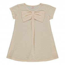 T-shirt Nœud Bow Rose pâle