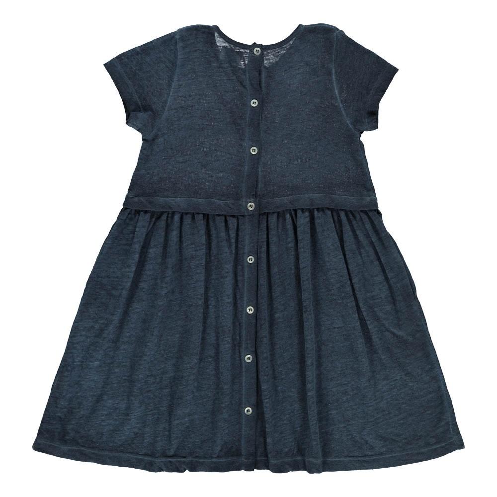 robe bonheur bleu nuit morley mode ado smallable. Black Bedroom Furniture Sets. Home Design Ideas