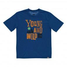 T-shirt Hike Bleu