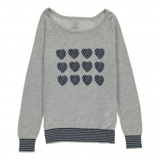 Pull Mamy Gris clair