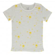 T-shirt Etoiles Jaune