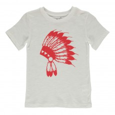 T-shirt Indien Rouge