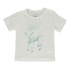 T-shirt Mouton Bleu turquoise